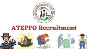 ATEPFO Recruitment
