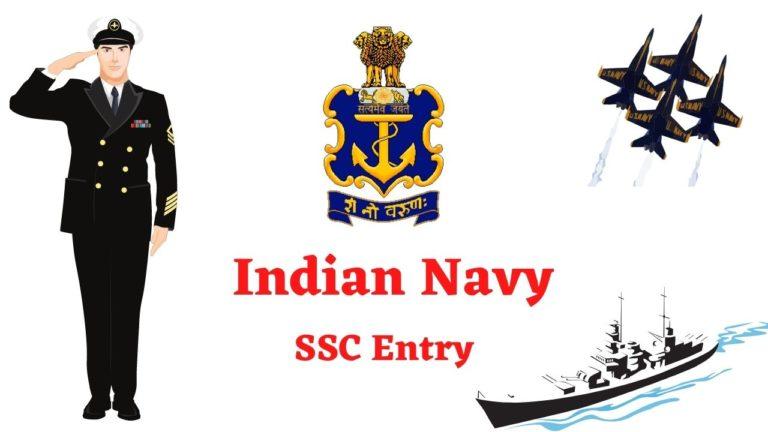 Indian Navy Recruitment - SSC Entry