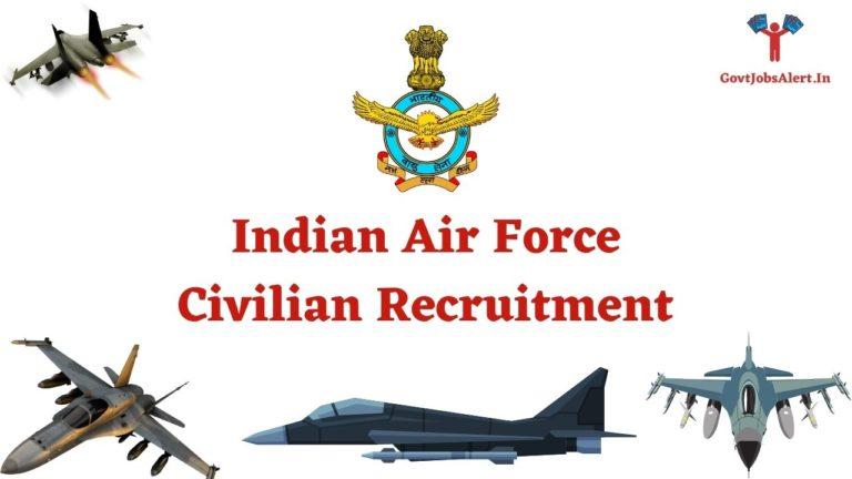 Indian Air Force Civilian Recruitment