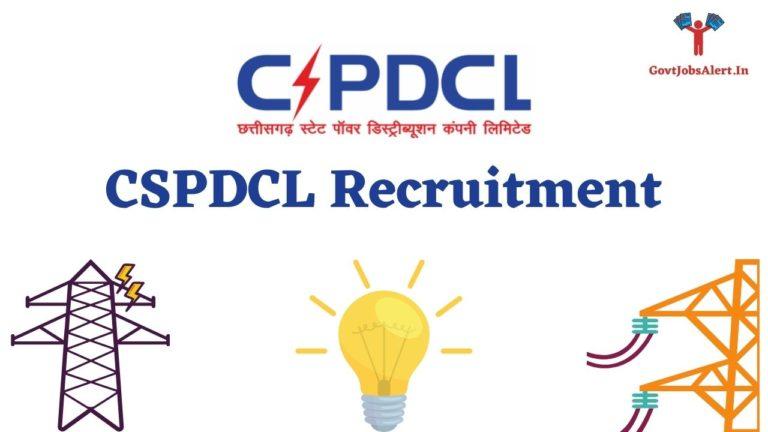 CSPDCL Recruitment