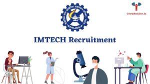 IMTECH Recruitment