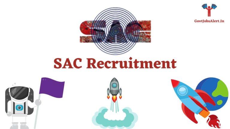 SAC Recruitment