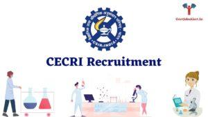 CECRI Recruitment