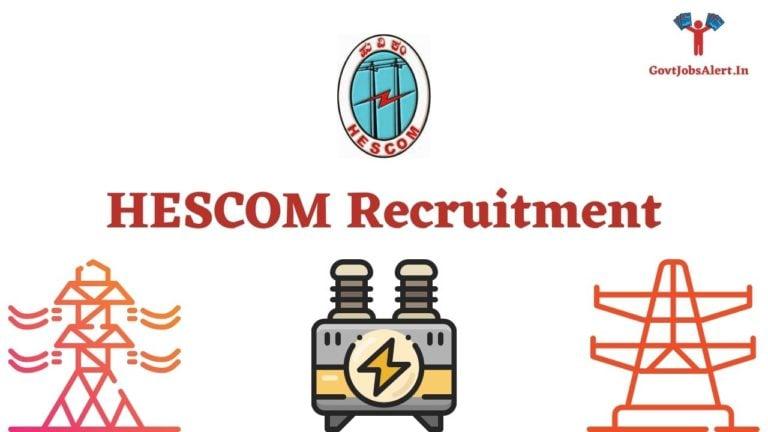 HESCOM Recruitment