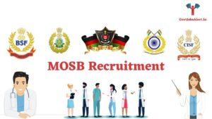 MOSB Recruitment