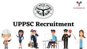 UPPSC Recruitment