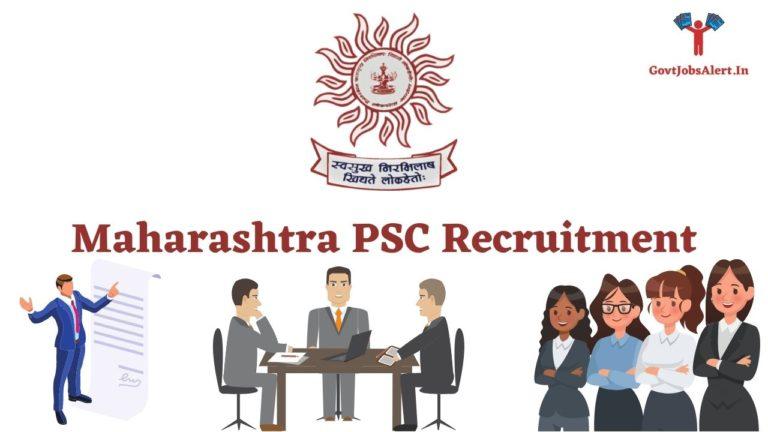Maharashtra PSC Recruitment