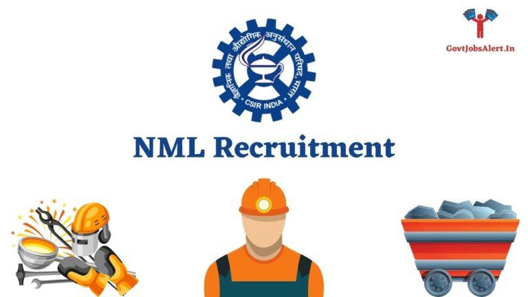 NML Recruitment