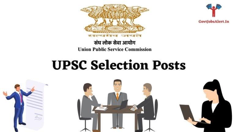 UPSC Selection Post